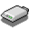 56k Digital Modem Icon Image