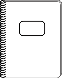 White Notepad Clip Art