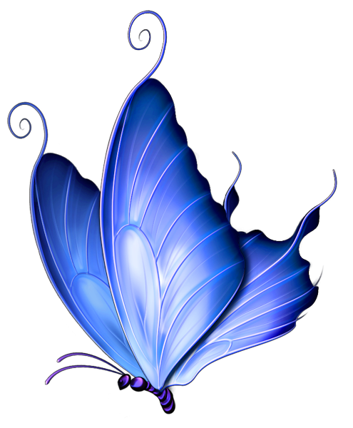 ... Free Images at Clker.com - vector ... Butterflies Transparent Tumblr