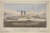 Steamers City Of Troy & Saratoga Image