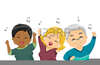 Elderly Dancing Clipart Image