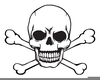 Skull And Crossbone Free Clipart Image