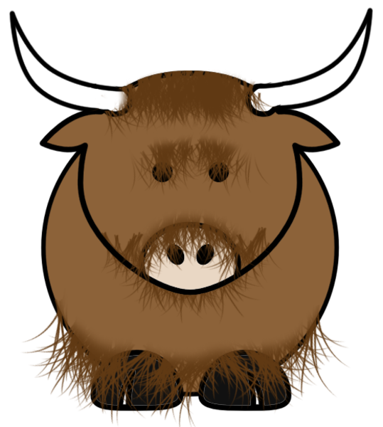 Yak Free Images At Clkercom Vector Clip Art Online Royalty