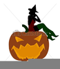 Free Halloween Silhouette Clipart Image