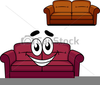 Free Couch Clipart Image