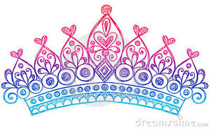 Sketchy Princess Tiara Crown Notebook Doodles Thumb Image