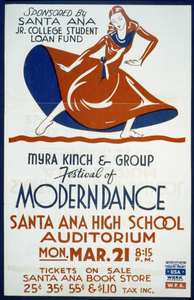 Myra Kinch & Group  Festival Of Modern Dance  Image
