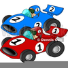 Modified Race Car Clipart Image