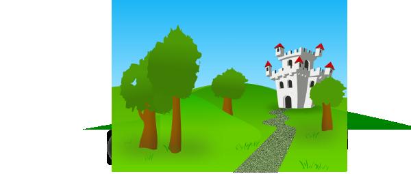 castillo clip art at clker com