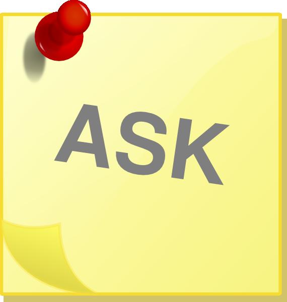 Ask Clip Art at Clker.com - vector clip art online, royalty free ...
