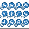 Astrological Signs Free Clipart Image
