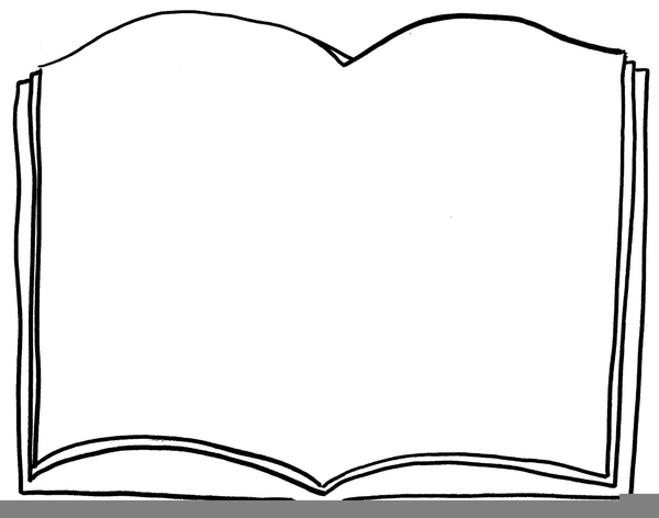 clipart open book outline free images at clker com vector clip rh clker com clipart open book outline