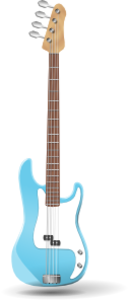 Bass Guitar A J Ashton Svg Med Image