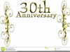 Free Clipart For Th Wedding Anniversary Image