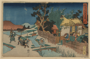 Act Six [of The Kanadehon Chushingura]. Image