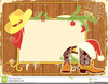 Western Christmas Border Clipart Image
