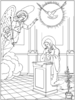 Mysteries Rosary Clipart Image