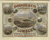 Dodge & Co. Manufacturers Of Lumber Image