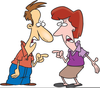 Arguing Clipart Image