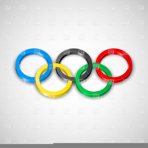 free olympics rings clipart free images at clker com vector clip rh clker com Free Winter Olympic Clip Art free olympic logo clipart