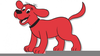 Clifford Big Red Dog Clipart Image
