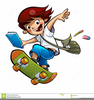 Student Going To School Clipart Image