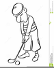 Free Vector Clipart Golfer Image