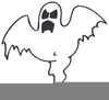Ghost Clipart Black And White Image