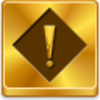 Free Gold Button Exception Image