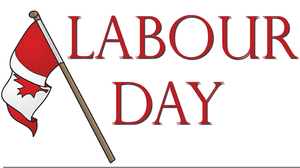 Labour Day Canada Clipart Image