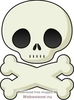 Clipart Skull And Crossbones Image