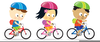 Free Clipart Of Child Riding Bike Image