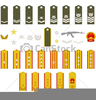 Clipart Army Insignia Stock Illustration Image