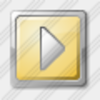 Icon Media Play Yellow Image