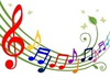 Colorful Musical Notes Image