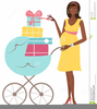 Silhouette Pregnant Woman Clipart Free Image