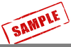 Free Clipart Draft Stamp Image