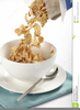 Cereal Bowl Clipart Image