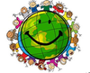 Clipart Multiracial Smiley Faces Image