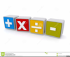 Multiplication Division Clipart Image