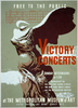 Victory Concerts At The Metropolitan Museum Of Art Free To The Public / Byron Browne. Image