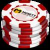 Stack Poker Chips Clip Art at Clker.com - vector clip art ...