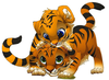 Kung Fu Animal Clipart Image