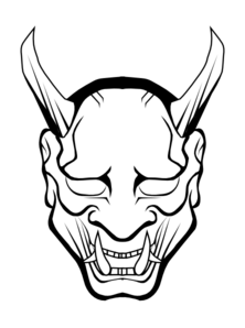 Devil Outline Clip Art