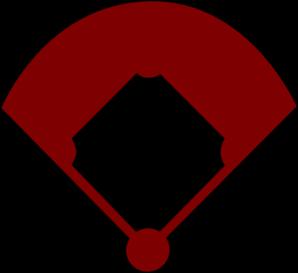baseball field clip art at clker com vector clip art online rh clker com Baseball Plate Vector Baseball Base Vector
