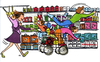 Grocery Shopping Clip Art Image
