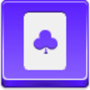 Free Violet Button Clubs Card Image