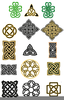 Celtic Knot Borders Clipart Image