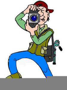 Photographer Clipart Image
