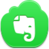 Free Green Cloud Evernote Image
